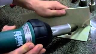 Hot Air Tool RION for plastic welding, repair, tank & pipe
