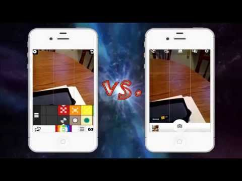 Comparing 2 photo App Snaptime and Camera 360 Ultimate