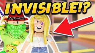 INVISIBLE GLITCH ON THE NEW MAP FACTORY!! (Roblox Murder Mystery 2 Update)