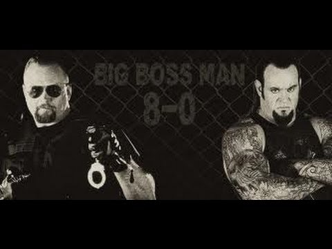 WWF Wrestlemania 15 Undertaker vs. Big Boss Man (Hell in a ...