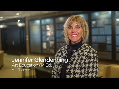 Jennifer Glendenning: Master of Education in Art Education `17, University of Missouri