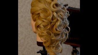 видео Как сделать свадебную прическу