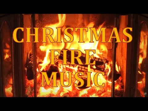 Perfect Christmas Log Fireplace Full HD 1080p perfect crackling sound + Christmas music