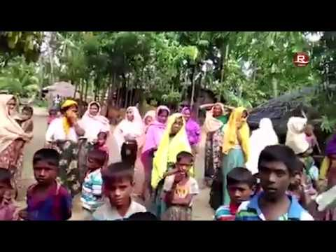 Rohingya Youth was Attacked by a Group of Rakhine extremists