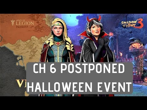 Shadow Fight 3 CH 6 & NEW HALLOWEEN EVENT
