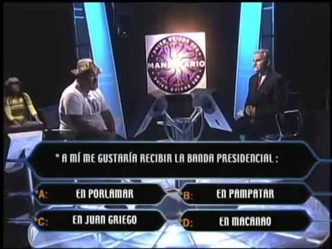 ¿Quién quiere ser Mandatario? con Er Conde y Nueva Canción de Radio Rochela  Año 2006