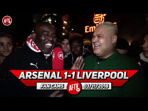 Arsenal 1-1 Liverpool | New Name For Lacazette - LACA BOOM!! (Heavy D)