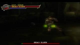 Mortal kombat shaolin monks shao kahn playthrough