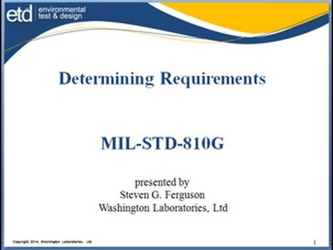 RFQ -- Now What  Part I -- Determining Requirements