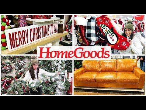 HOMEGOODS SHOP WITH ME 2019! CHRISTMAS & HOLIDAY DECOR!