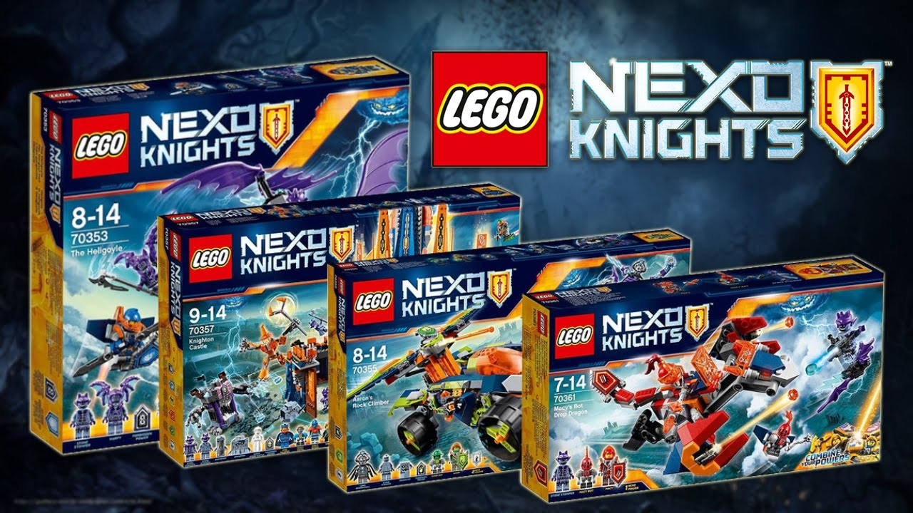 Lego Nexo Knights Sets 2017 Hd Youtube