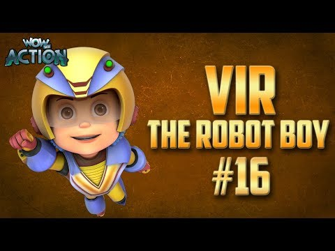 Vir: The Robot Boy | Hindi Cartoon Compilation For Kids | Compilation 16 | WowKidz Action thumbnail