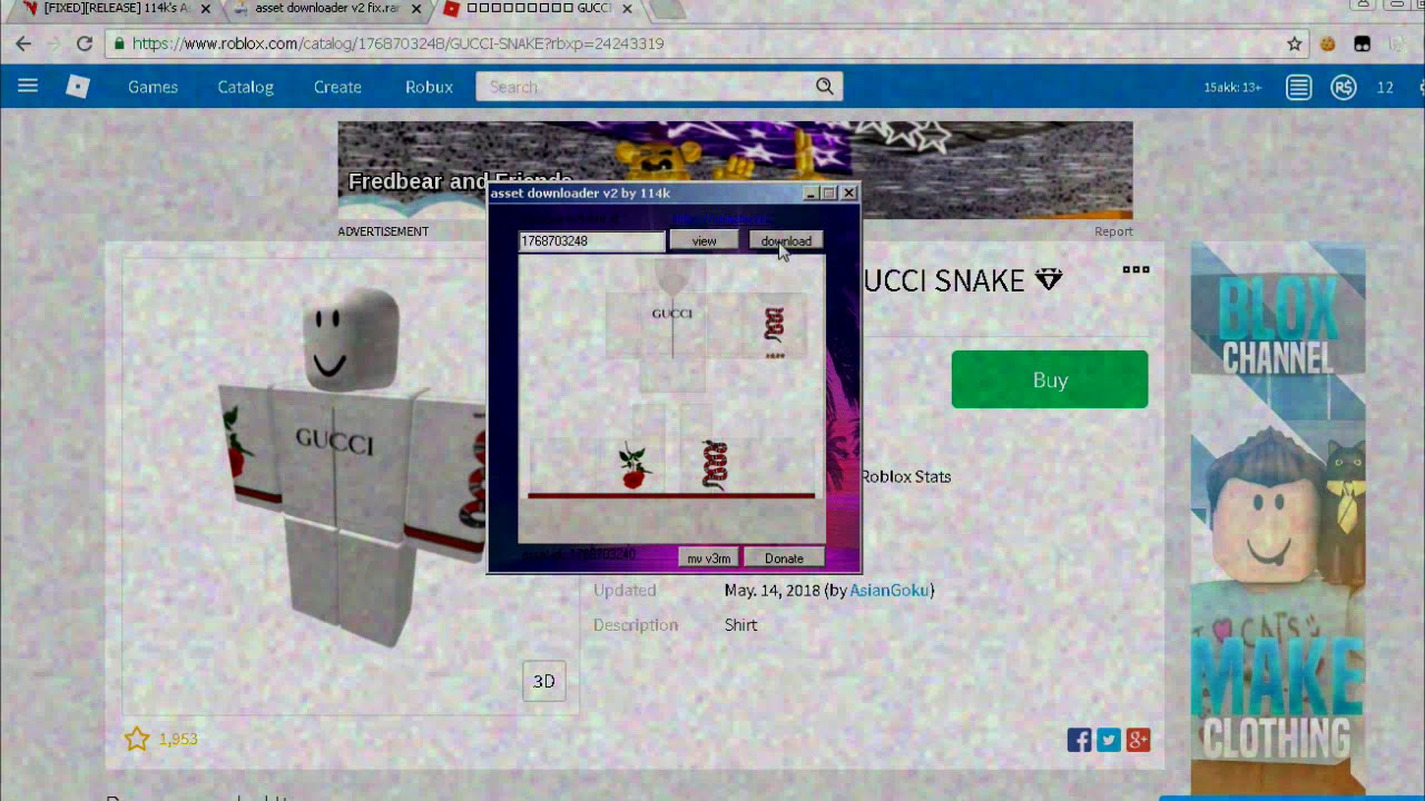Rbxp Roblox New Roblox Asset Downloader Free Download Youtube