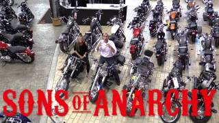 "Sons of Anarchy Stars ""Tig"" and ""Juice"" @ FX Caprara Harley Davidson!"