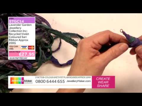How to Make Textile and Beaded Jewellery: JewelleryMaker LIVE 27/02/2015