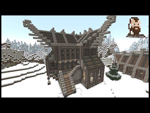 Minecraft: stort vikingehus - tutorial