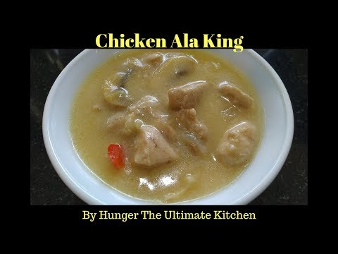 Chicken Ala King | How To Cook Chicken Ala King
