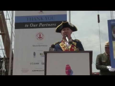 La carta de Las Palmas de Gran Canaria llega a Baltimore