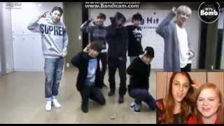 BTS - WAR OF HORMONE (DANCE PRACTICE) REACTION!   GIRLZ REACT.
