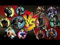 Shadow Fight 2 Lynx and Bodyguards Vs Shogun and Bodyguards