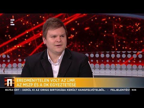 Eredménytelen volt az LMP, az MSZP és a DK egyeztetése – Fodor Csaba - ECHO TV