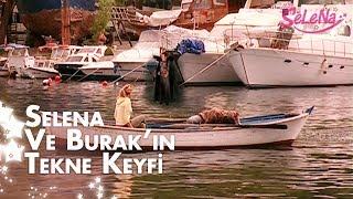 Selena ve Burak'ın tekne keyfi...