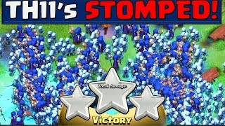 Clash of Clans - How are TH11 being 3 Starred EVERY TIME!? thumbnail