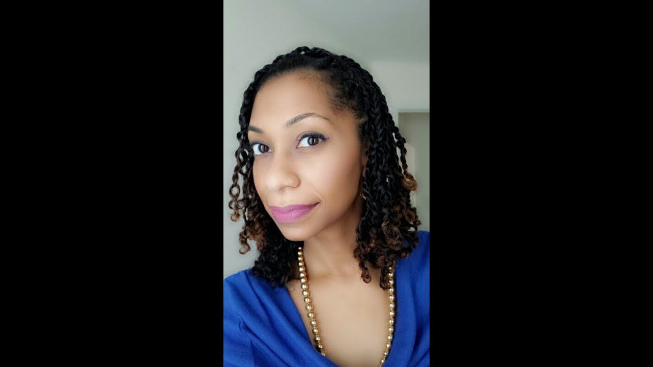 natural hair mini twists 3b 3c