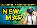 NEW PUBG MAP! 4x4 Closed Beta Testing // CODES GIVEAWAY!