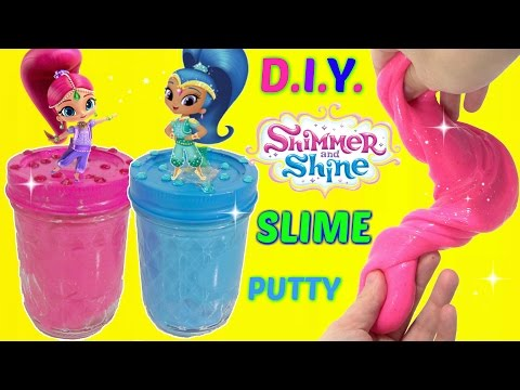 Thumbnail: D.I.Y. NICKELODEON SHIMMER & SHINE Do It Yourself Glue & Liquid Starch Slime Putty, Kids Toy Craft