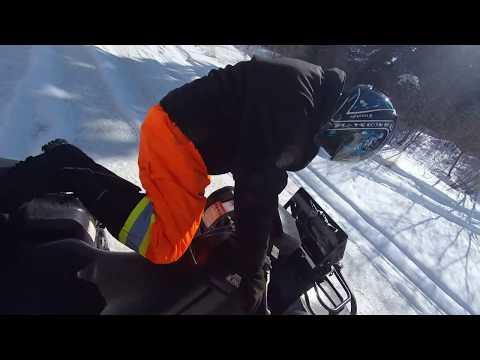 March 11 2018 Bruderheim to North Saskatchewan river ATV Quading