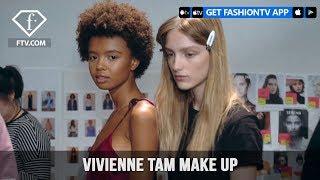 New York Fashion Week Spring/Summer 2018 - Vivienne Tam Make Up | FashionTV