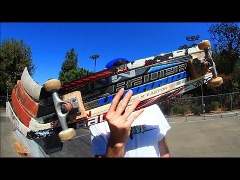 HOCKEY STICK SKATEBOARD! | YOU MAKE IT WE SKATE IT EP 38