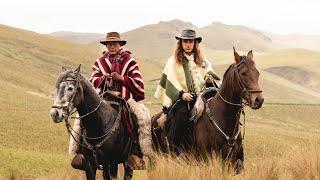 """Los chagras, indígenas """"cowboys"""" en Ecuador"""
