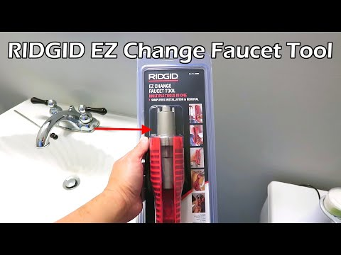 RIDGID Faucet and Sink Installer Tool - Model No. 2006 - YouTube