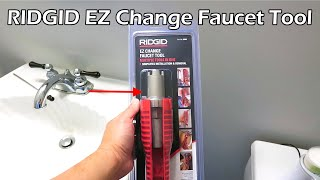 ridgid faucet and sink installer tool
