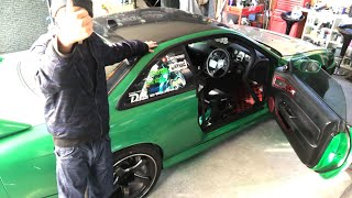 AIZ号S14シルビア徹底解析!【自分のドリ車紹介w】S14 Silvia favorite car drift machine