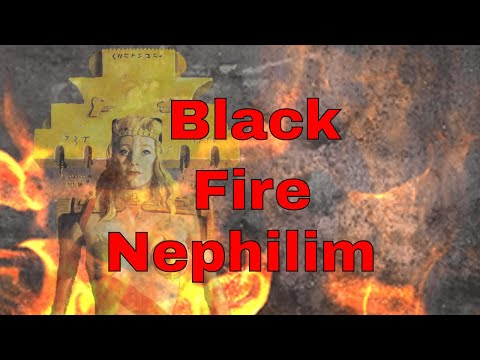 The Black Fire Nephilim Giants are Alive - eye witness account