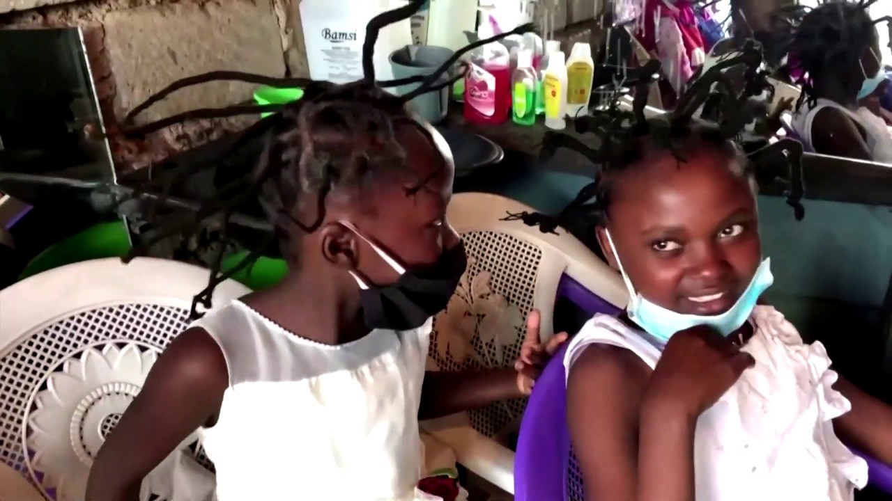 ケニアで急増中のヘアスタイル