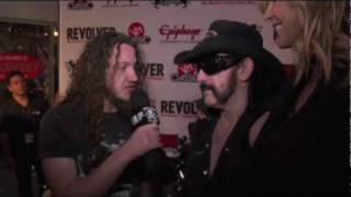 Metal Blade TV asks – Lemmy or Halford? at Revolver's Golden Gods Awards