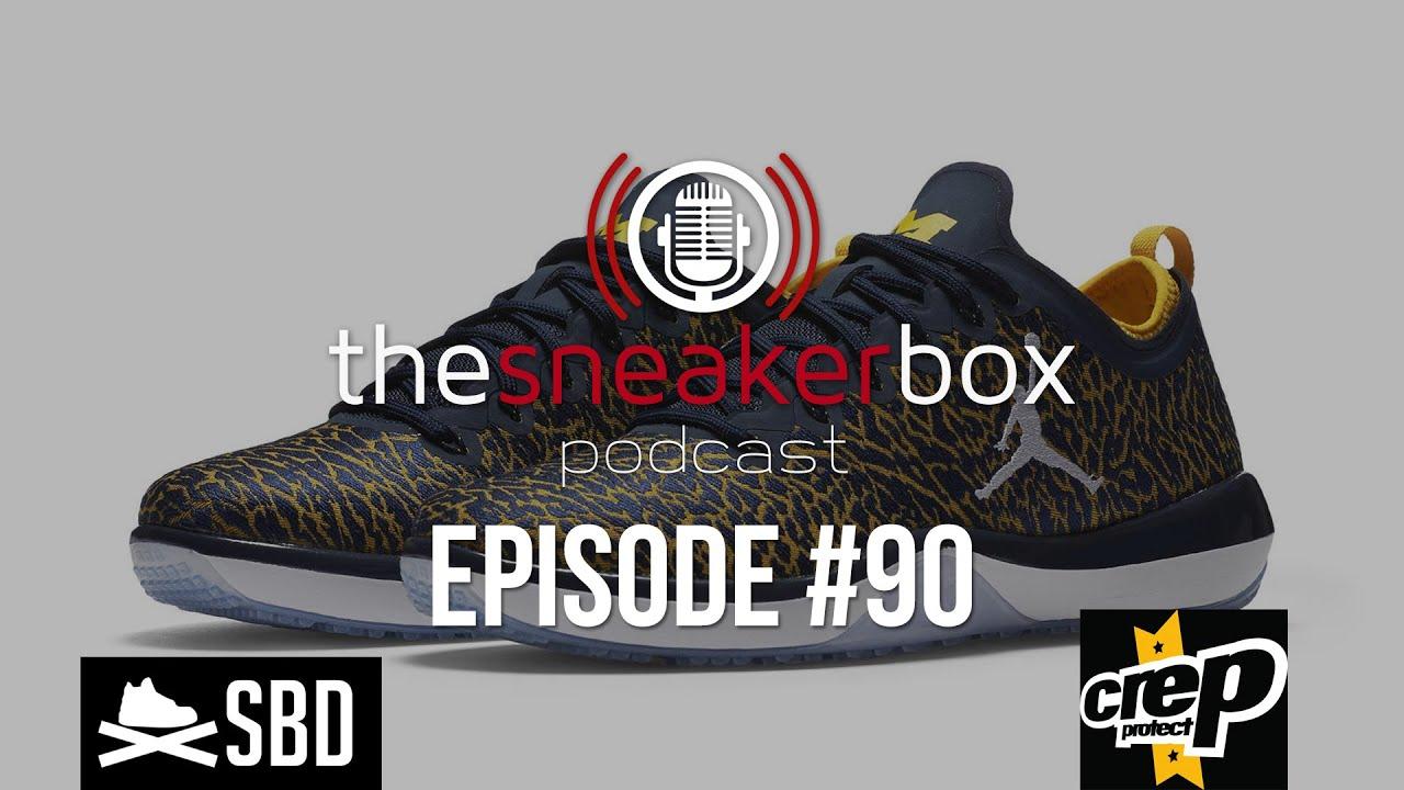 0048ff1921c The Sneaker Box  Episode 90 - Michigan signs with Nike Jordan. Sneaker Bar  Detroit