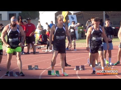 Jake Paul WINS 100m Race at the Challenger Games in Long Beach