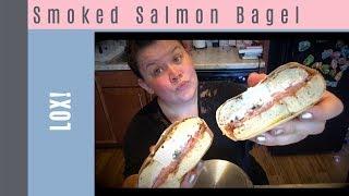 Bagels Forever Smoked salmon Bagel (LoX) Mukbang + Party!?