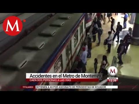 Accidentes en el metro de Monterrey, Nuevo León