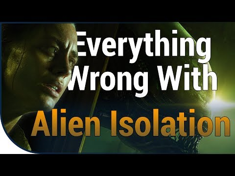 GAME SINS | Everything Wrong With Alien: Isolation