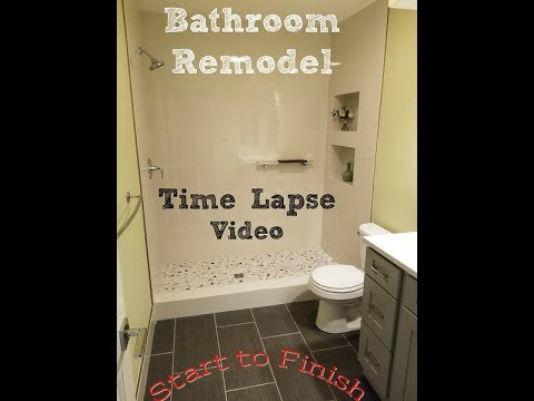 Federal Hill Bathroom Project Start to Finish