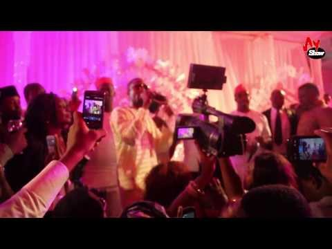 Don Jazzy and D'Banj Performs Together @ Dotun's Wedding