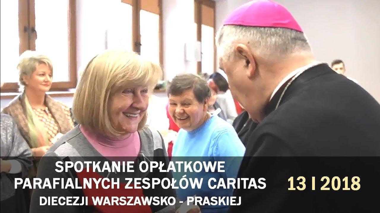 Spotkanie opłatkowe Parafialnych Zespołów Caritas DW-P (13 I 2018 r.)