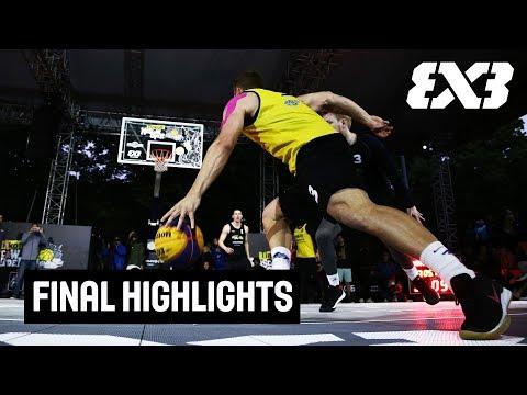 Humpolec v Gagarin - Final Highlights - FIBA 3x3 Tinkoff Moscow Challenger 2018