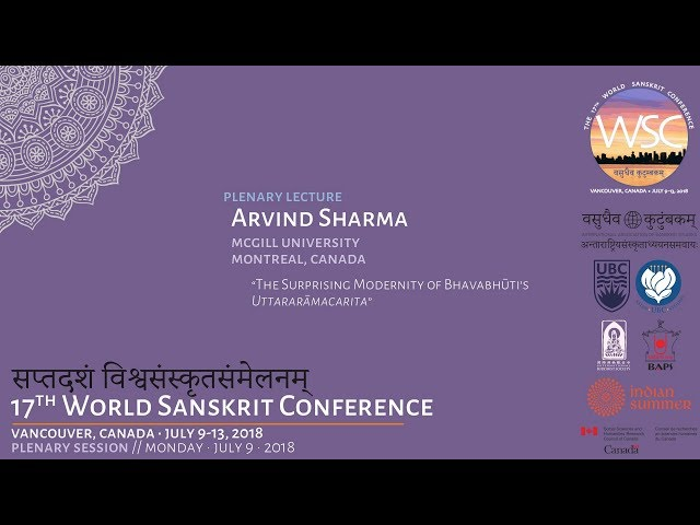WSC2018 Plenary Lecture: Arvind Sharma